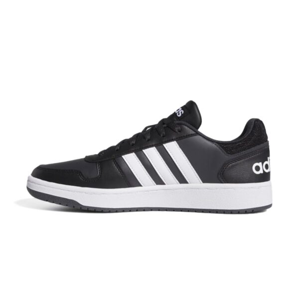 Scarpe Adidas Hoops 2.0 Nere e Bianche