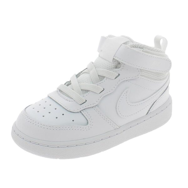 Scarpe Nike Court Borough mid 2 bianche