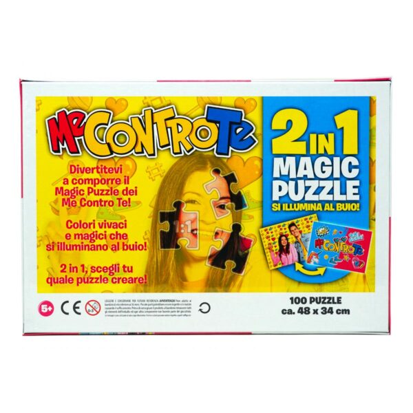 Magic Puzzle 100 pezzi 2in1 di Me Contro Te