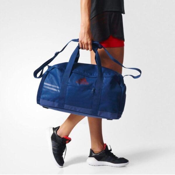 Borsone Adidas 3 Stripes Performance blu