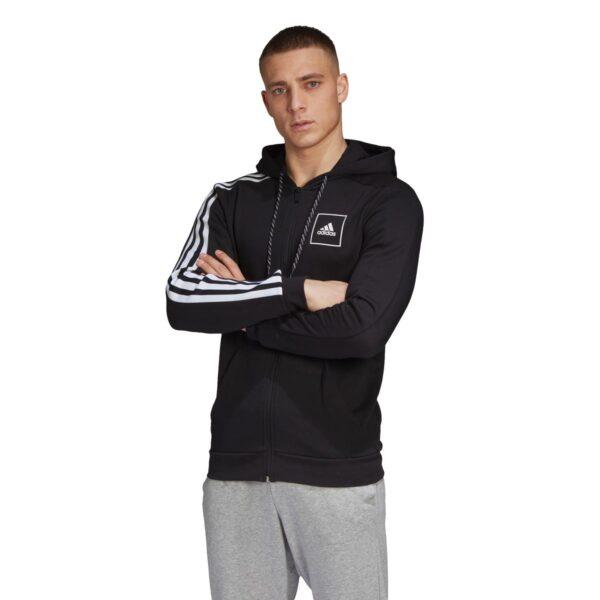 Felpa Adidas Full Zip M 3S Tape FZ