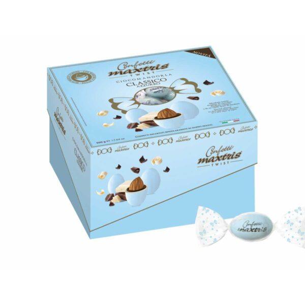 Confetti Vassoio Cadeaux Twist Maxtris Celeste