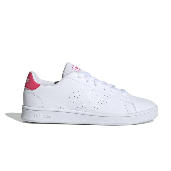 Scarpe Adidas Advantage K Bianca e Rosa