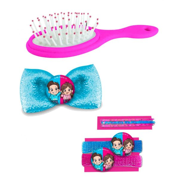 Set accessori per capelli Me Contro Te