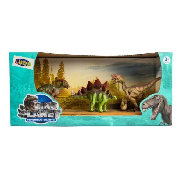 3 Dino Planet Ferocious Beasts 3+