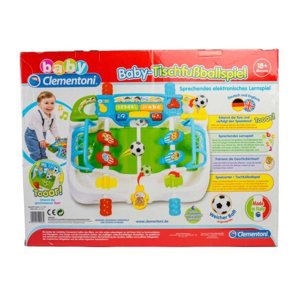 Baby Clementoni Calcio con Lettere e Numeri 18mesi+