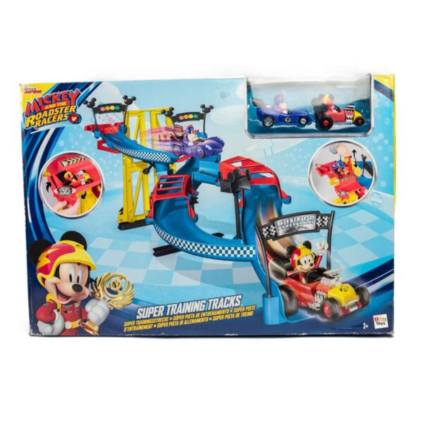 Pista Macchine da Corsa Mickey Mouse 3+