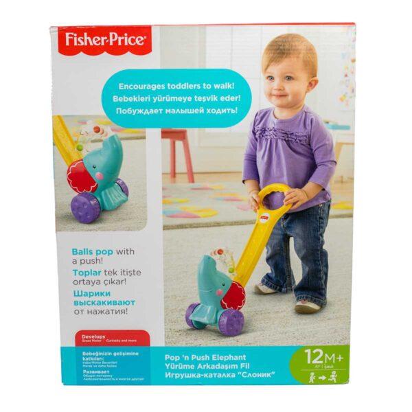 Fisher-Price Elefante Primi Passi 12mesi+