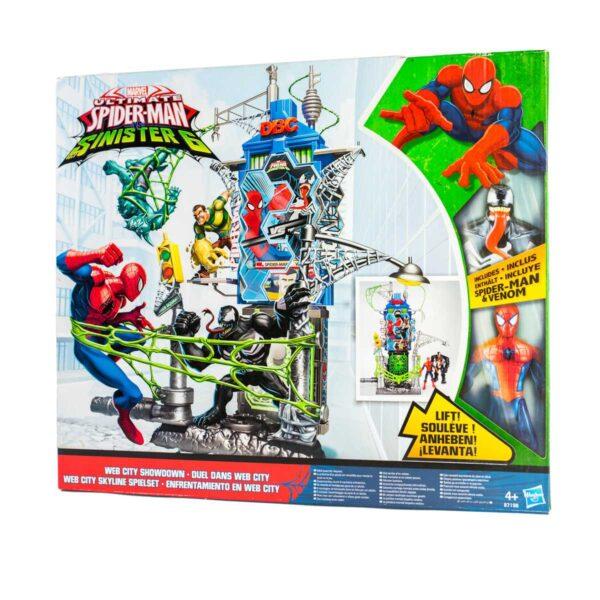 Spiderman vs Sinister 6 Web City 4+