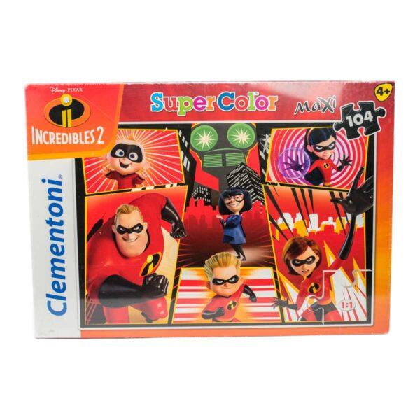 Puzzle Supercolor Gli Incredibili 2