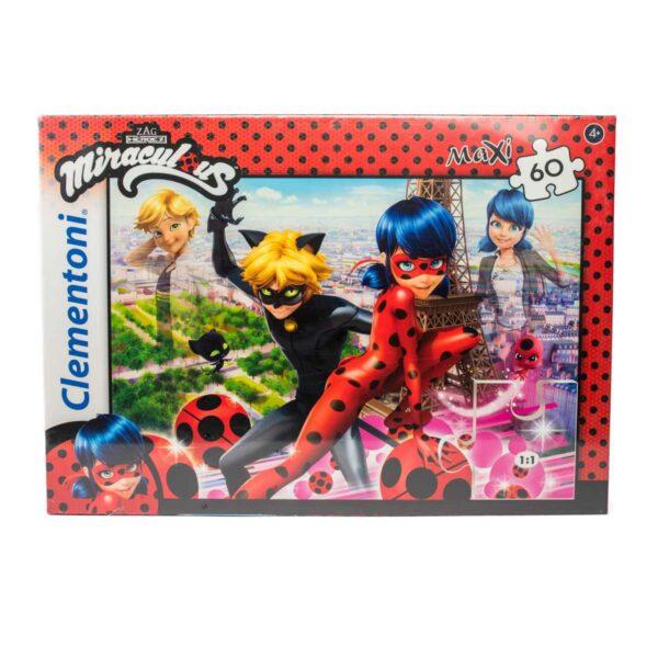Clementoni Puzzle 60 pezzi Maxi Miraculous