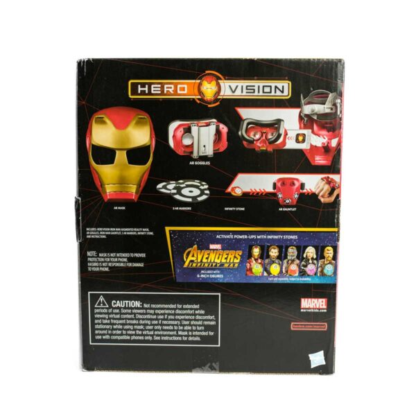 Hero Vision Avengers Infinity War 8+