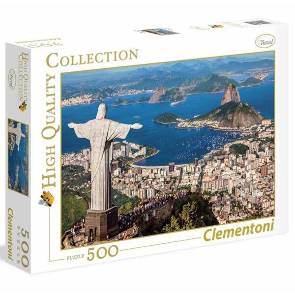 Puzzle da 500 Pezzi High Quality Collection - Rio De Janeiro