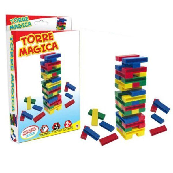 Torre Magica Jenga Versione Travel