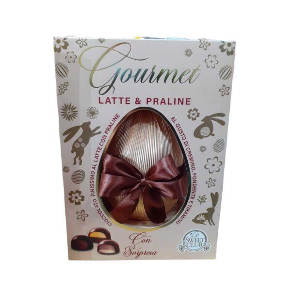 Uovo di Pasqua 2021 Sweet Club Latte e Praline