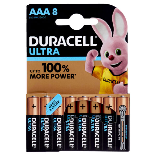 pile duracell ultra AAA
